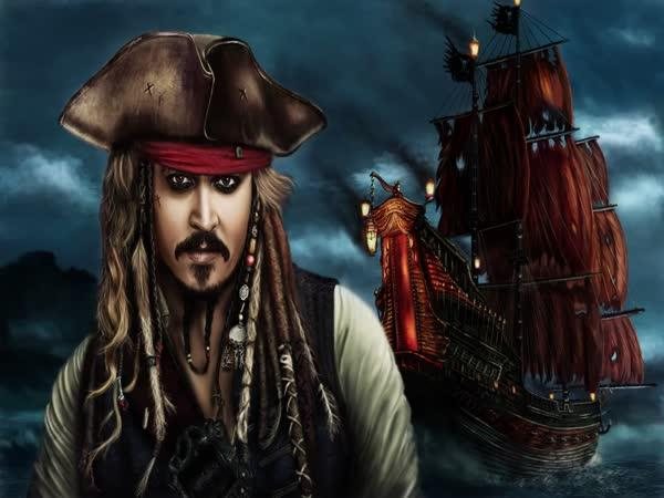 Speedpainting - Jack Sparrow
