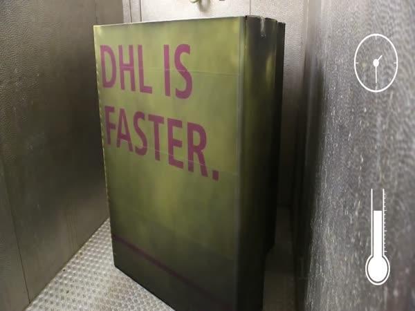 Vyčůraná reklama na DHL