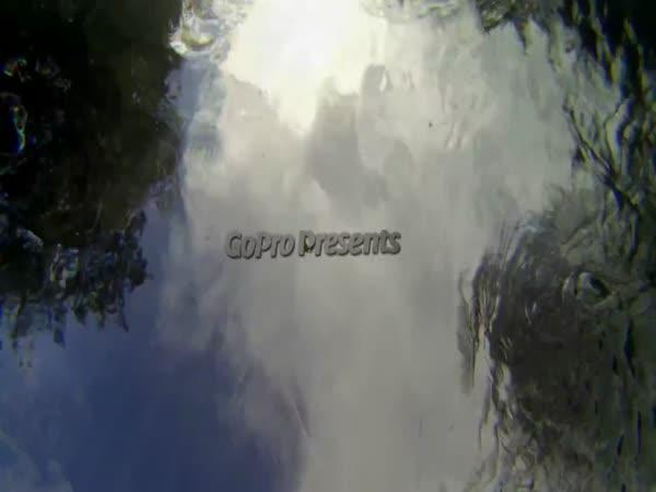 GoPro - kajak Nový Zéland