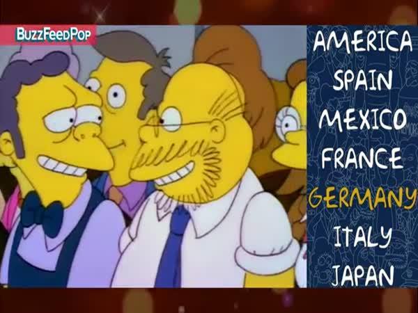 Simpsonovi v různých jazycích