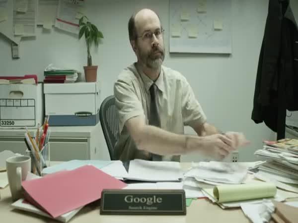 Kdyby byl Google obyčejný chlap