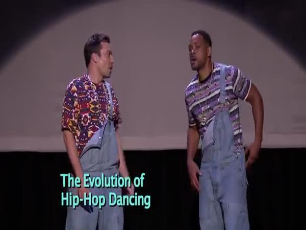 Evoluce hip-hophopového tance