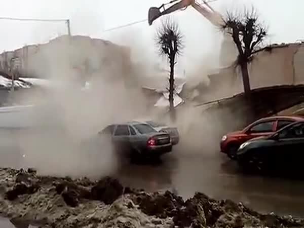 Rusko - (ne)bezpečná demolice