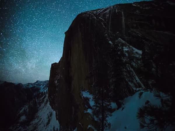Timelapse - Yosemitský národní park