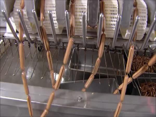Výroba párků