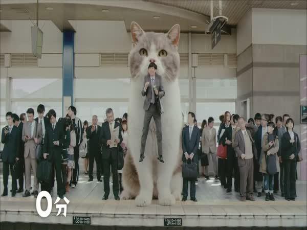Japonská praštěná reklama na žvýkačky