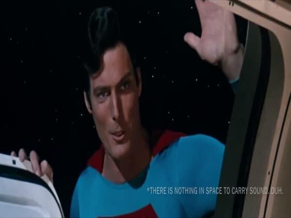 Parodie - Gravitace a Superman
