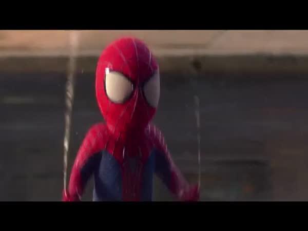 Spiderman jako dítě