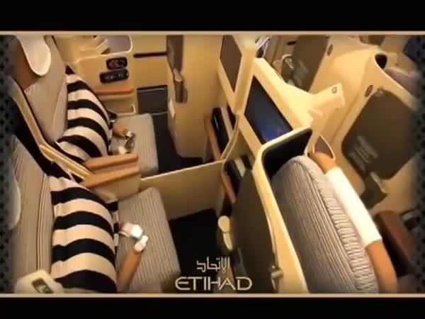 Luxusní spánek v letadle