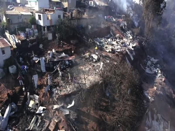 Chile - Zůstatek po požáru