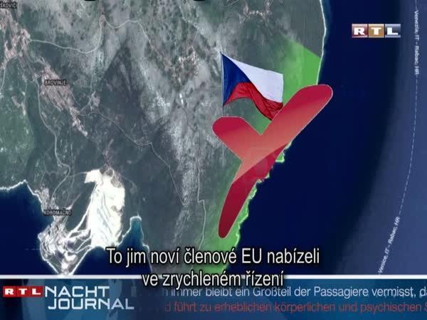 Česká republika mohla mít moře