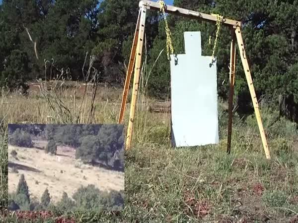 Sniper - střelba na 2,5 km