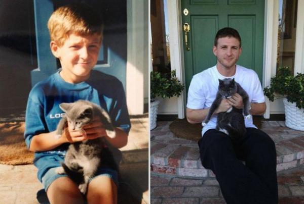 GALERIE - Zvířátko - před a po