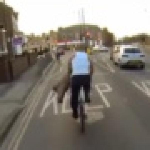 Hlupák cyklista