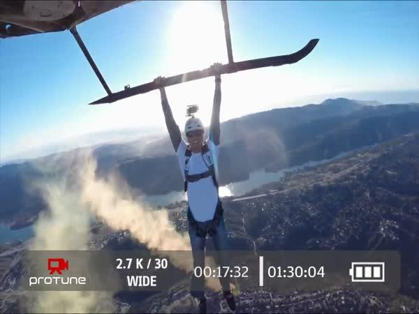 GoPro - Skok z vrtulníku