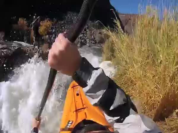 Adrenalin na kajaku