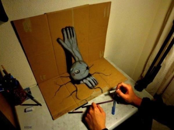 GALERIE - 3D kresby