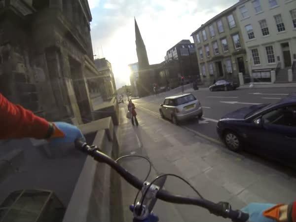 GoPro - umění na kole