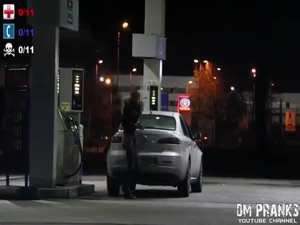 Sociální experiment - srážka autem