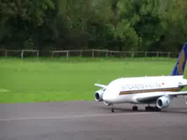 Obří model Airbus A-380