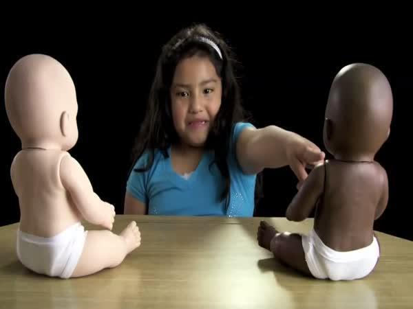Test dětí - Panenky