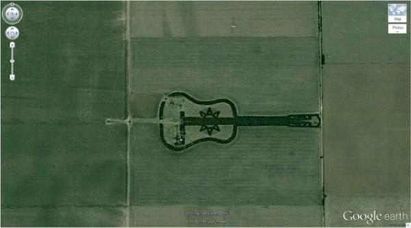GALERIE - To nej z Google Earth