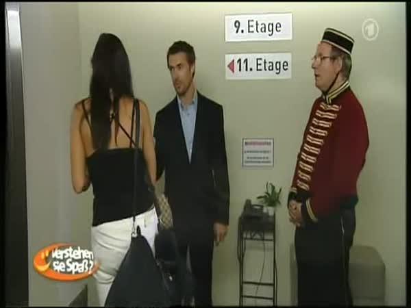 Nachytávka - Zmatené výtahy