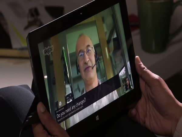 Překladač hovorů - Skype