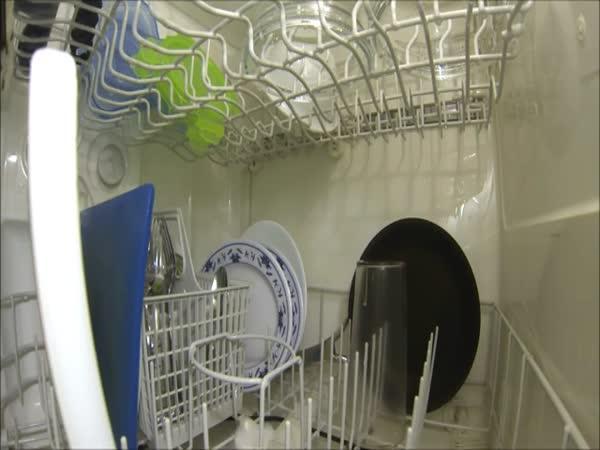Jak to vypadá v myčce nádobí
