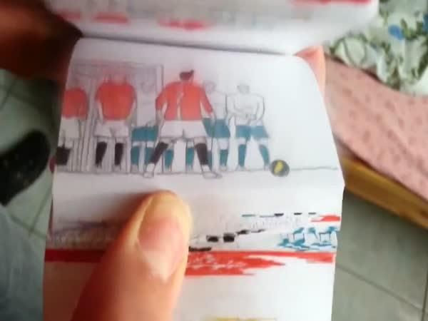 Kreslený fotbal - animace