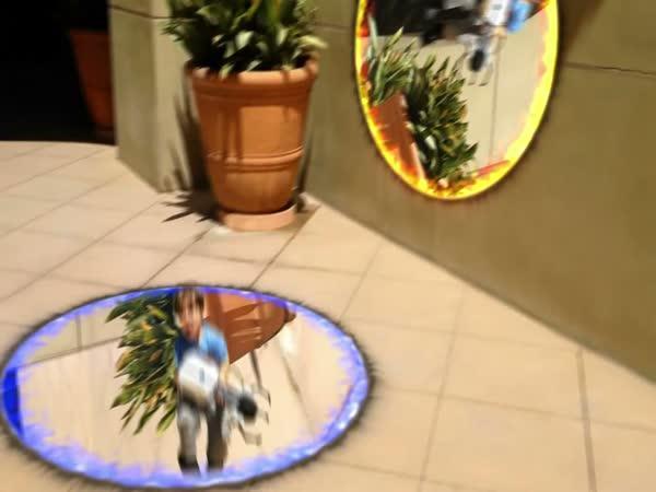 Zbraň ze hry Portal v reálu