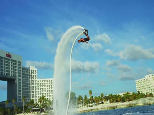 Hoverboard - vodní skateboard