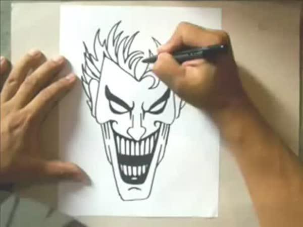 Návod - Jak nakreslit Jokera