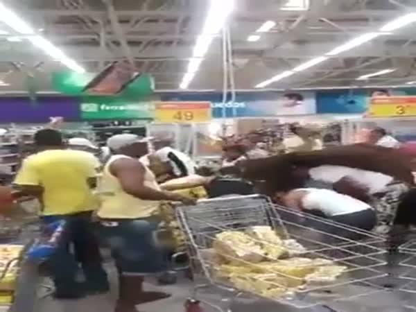 Výprodej piva v Brazílii