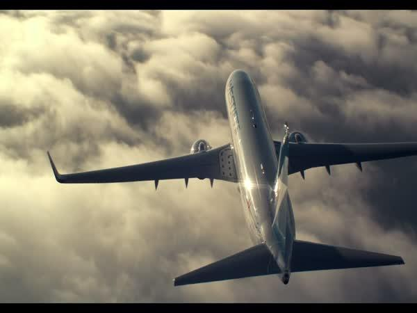 Nádherné záběry letadel