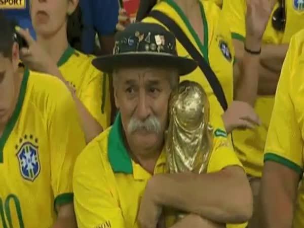 Brazílie prohrává o 7 branek