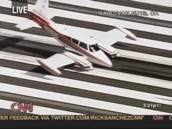 Borec pilot - nouzové přistání