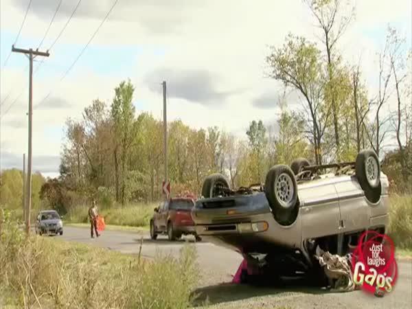 Prank - Dopravní nehoda