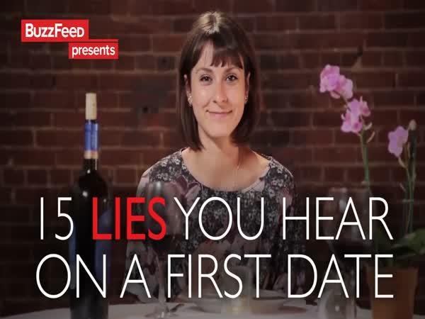 15 lží z prvního rande