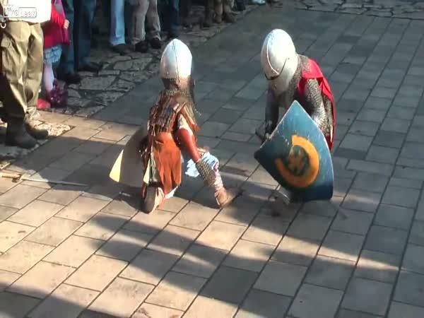 Bitva malých rytířů v Polsku