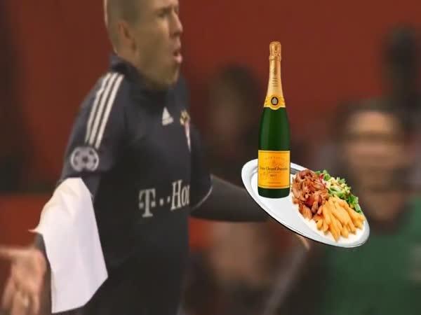Netradiční oslavy gólů