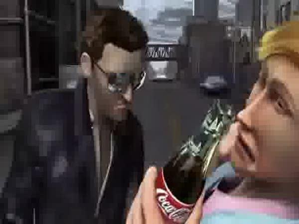 Reklama: Coca-Cola GTA