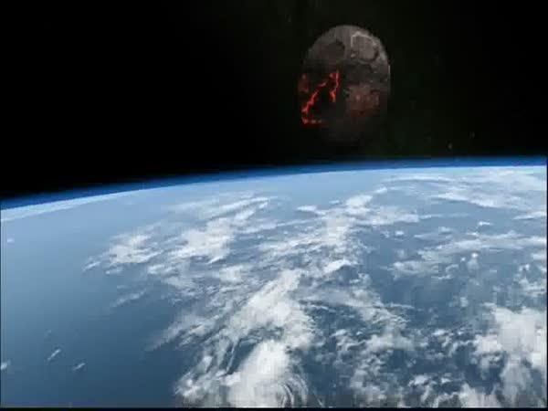 Konec světa - pád meteoritu