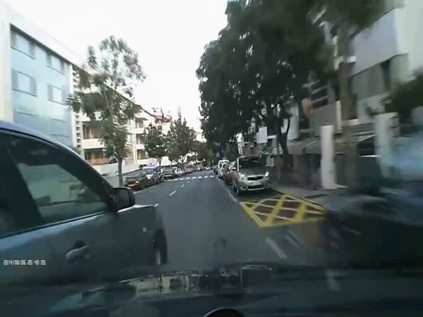 Idiot potká idiota - silnice