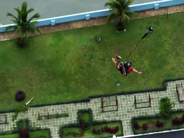 Zipline nad Panama city
