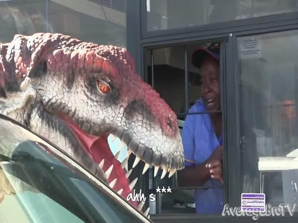 Nachytávka - Dinosaurus ve měste