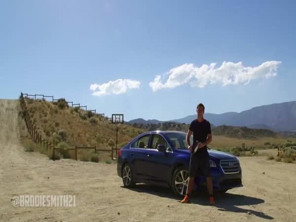 Brodie Smith - Subaru vs. frisbee