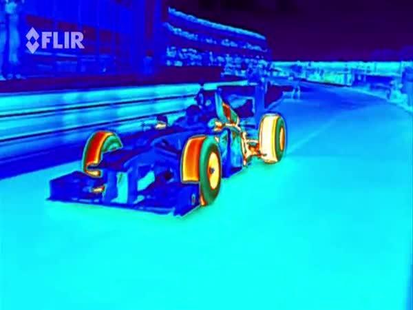 Formule 1 přes termovizi
