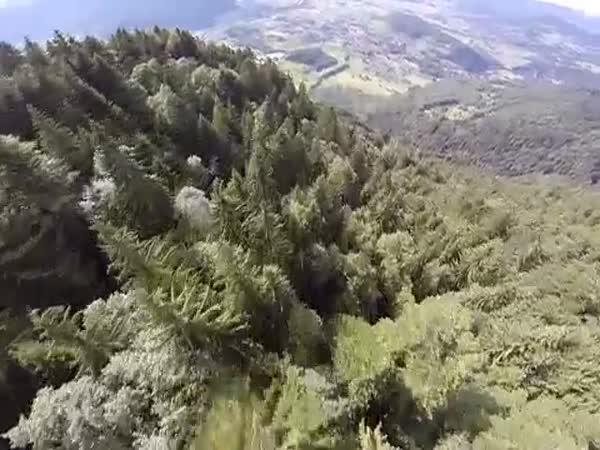 Přelet nad Alpami