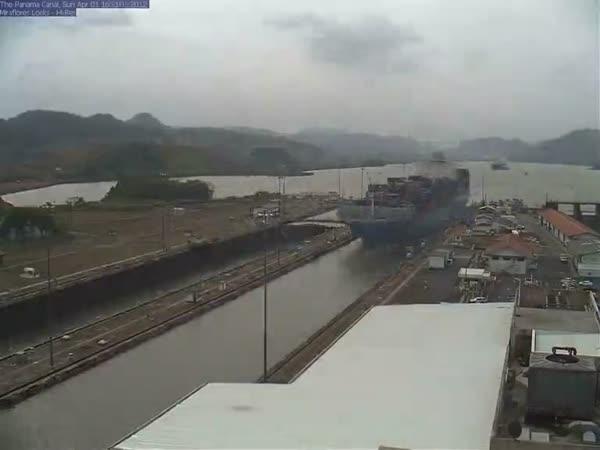 Timelapse - Panamský průplav
